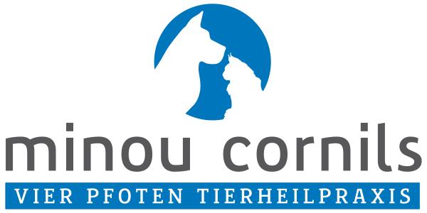 Logo Vier Pfoten Tierheilpraxis Minou Cornils